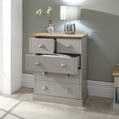 wooden chest of drawers from pay weekly furniture range