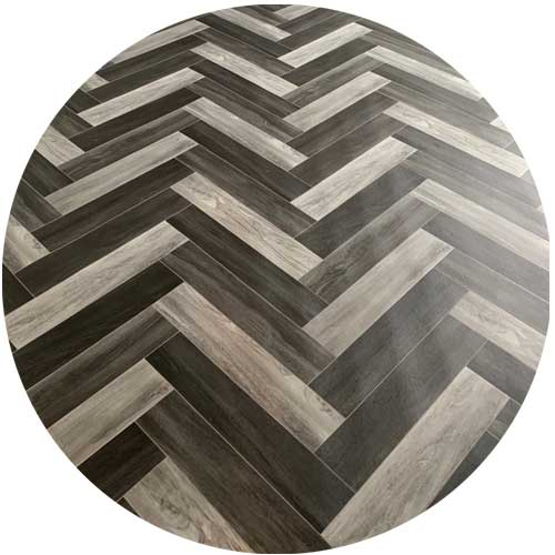 Pay Weekly Dark Parquet Vinyl